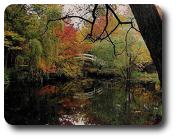 —Lagoon at Stan Hywet - H K Barnett photo