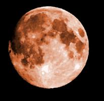 —Blood moon