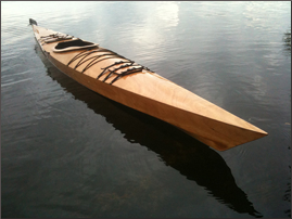 —Kayak built by Chris Seiberling