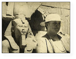 —Granny Seiberling in Egypt