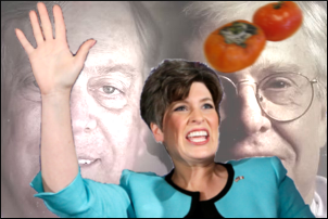 —Joni Ernst takes a hit