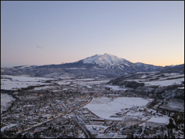 —Mt Sopris in Colorado