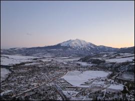(45)Mt Sopris in Colorado