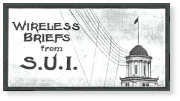 —Early UI broadcast services antenna